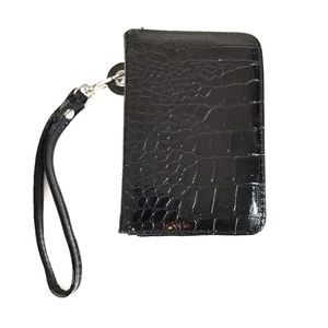 !SALE! 5 For $25 Black Card Wallet Clutch Wristlet